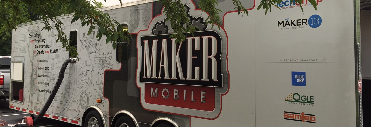 Maker Mobile at the MakerMania! Event