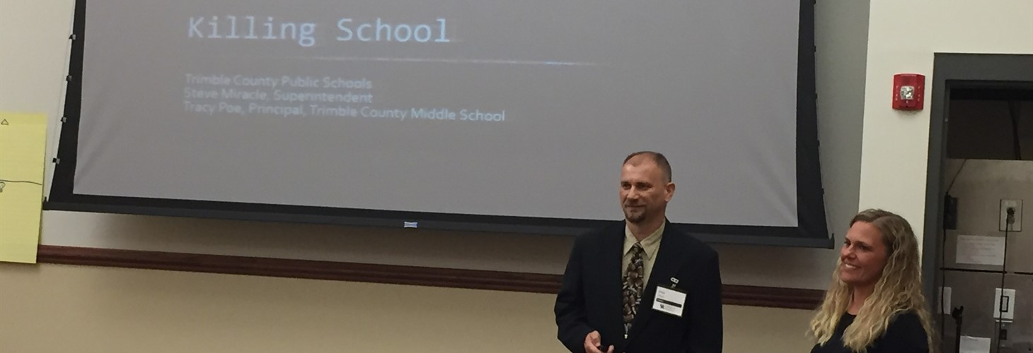 Trimble County presents at the Next Generation Leadership Academy