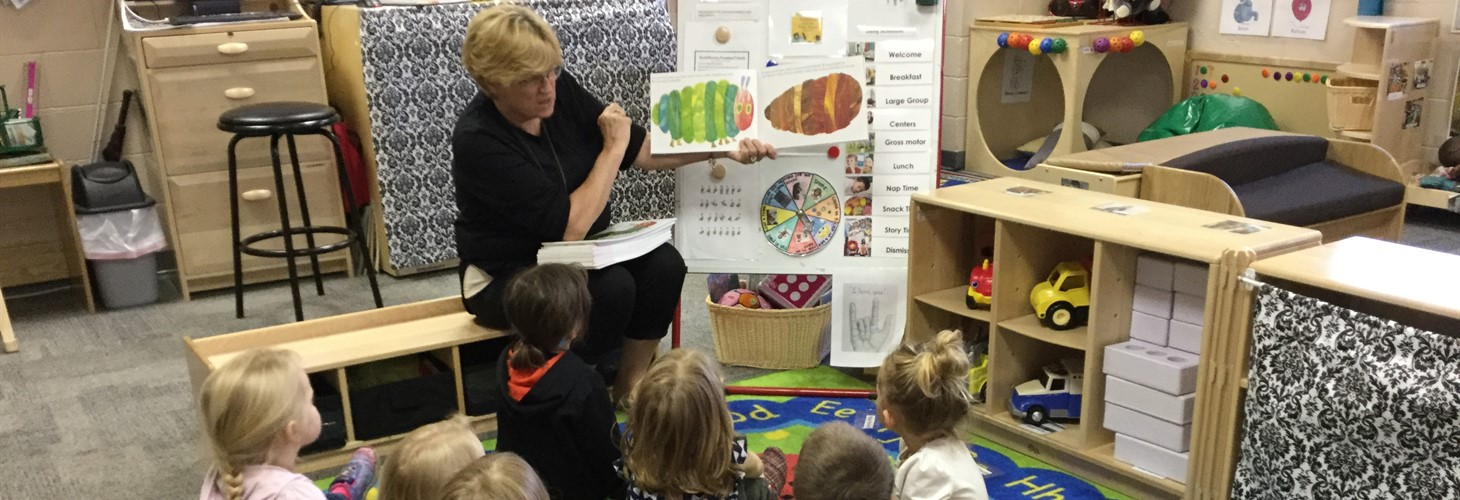 Children's Book Week at Trimble County Head Start!
