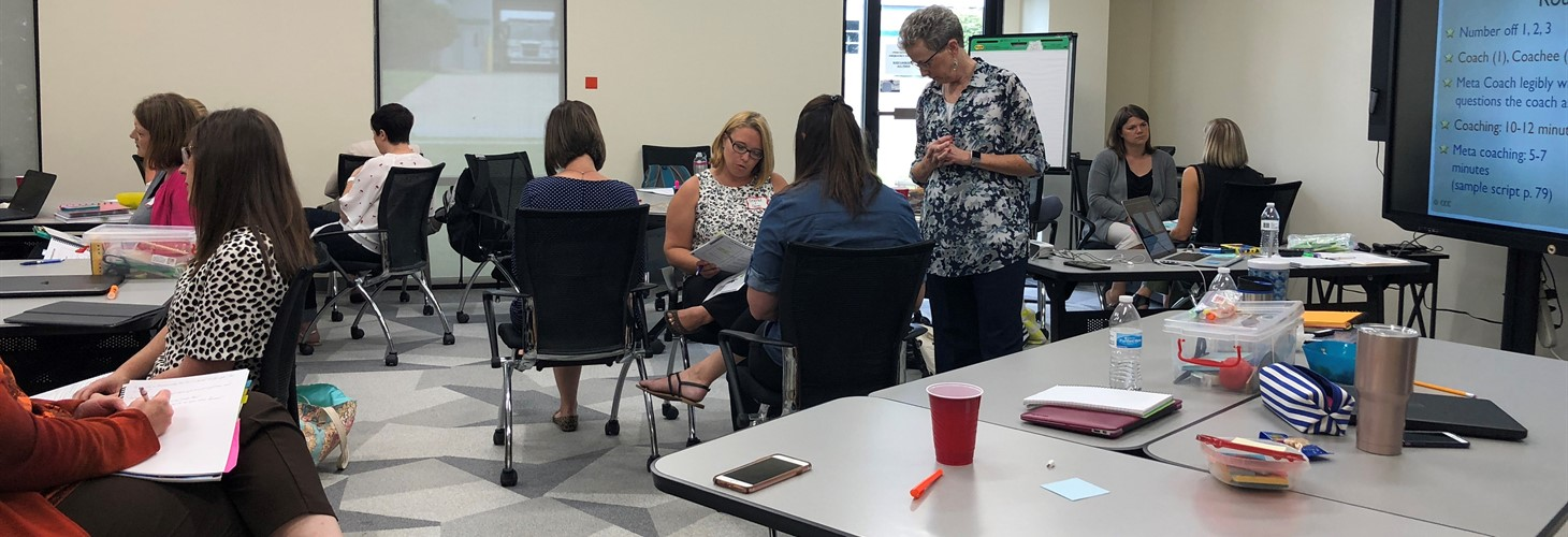 Cognitive Coaching with Dr. Maggie McGatha