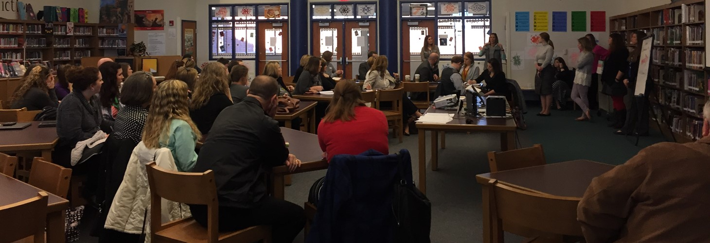 OVEC Teachers and Administrators Visit Royal Springs Middle School