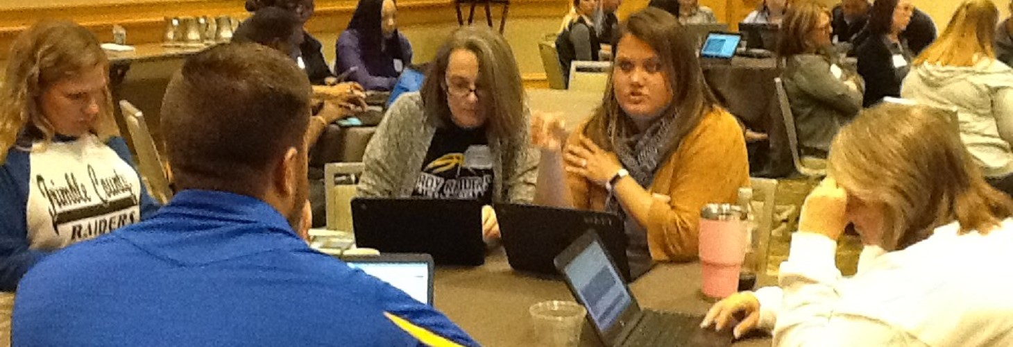 Teams from Trimble County High & Middle Schools with ILEAD Academy at regional Summit Learning Academy in Cincinnati.