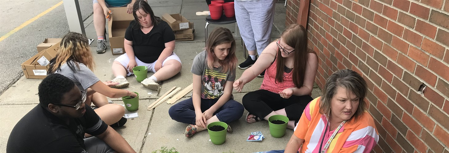 Franklin County high school students and staff learn about horticulture as a part of a Pre-ETS summer camp
